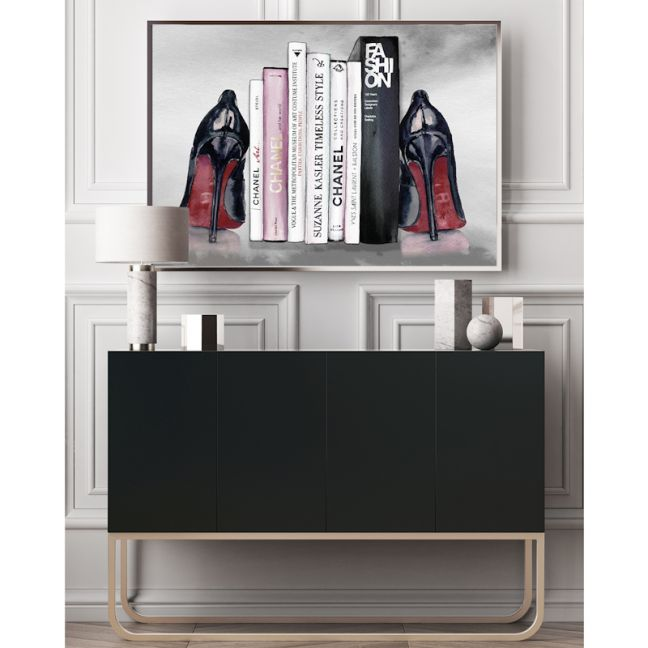 Cultured Heels  | Louboutin Heels | Fashion Illustration by Patricia Mendes