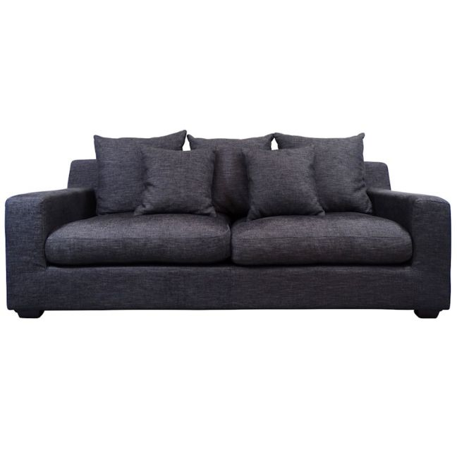 Cynthia Sofa 3 Seater| Basalt Grey