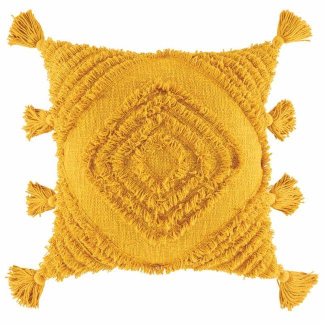 Daffie Cushion   by Kas Australia   Mustard