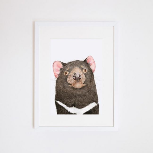 Des the Tasmanian Devil   Giclee Print by For Me By Dee