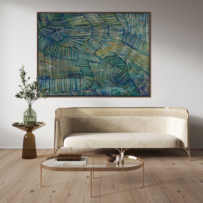 Dhala-bu-nya | Canvas Art Print