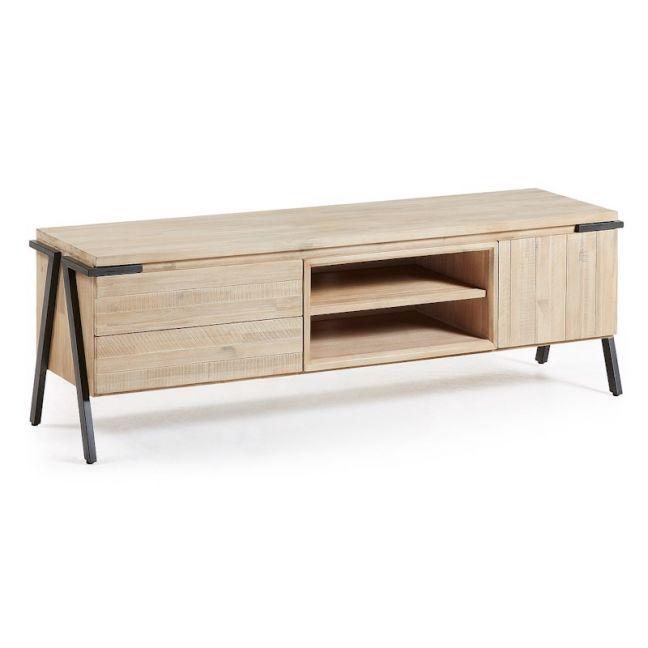 Disset Solid Timber TV Cabinet   165 cm