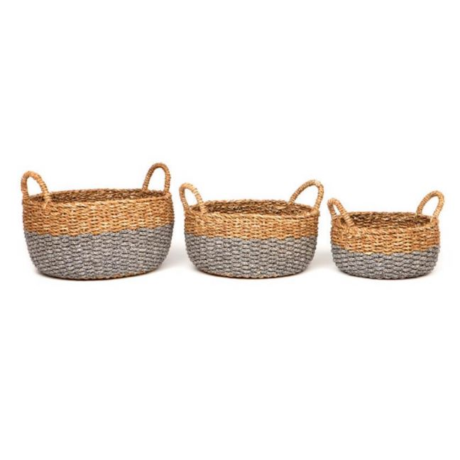 Dohar | Set of 3 | Handmade Basket | Fab Habitat