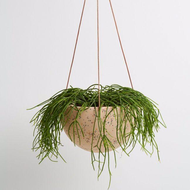 Dome Hanging Pot | Terrazzo Salt | Capra Designs