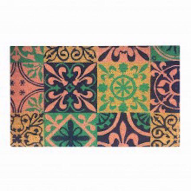 Doormat Spanish Tiles