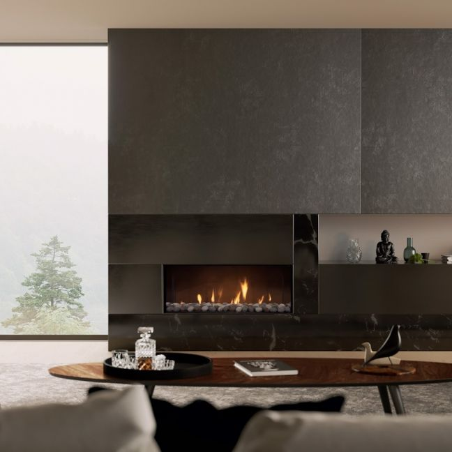 DS Series | Frameless Gas Fireplaces | DS1150 Single Sided