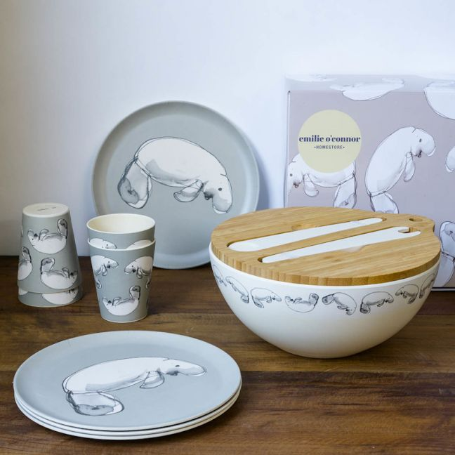 Dugong Eco Bamboo Gift Set | Emilie O'Connor Homestore