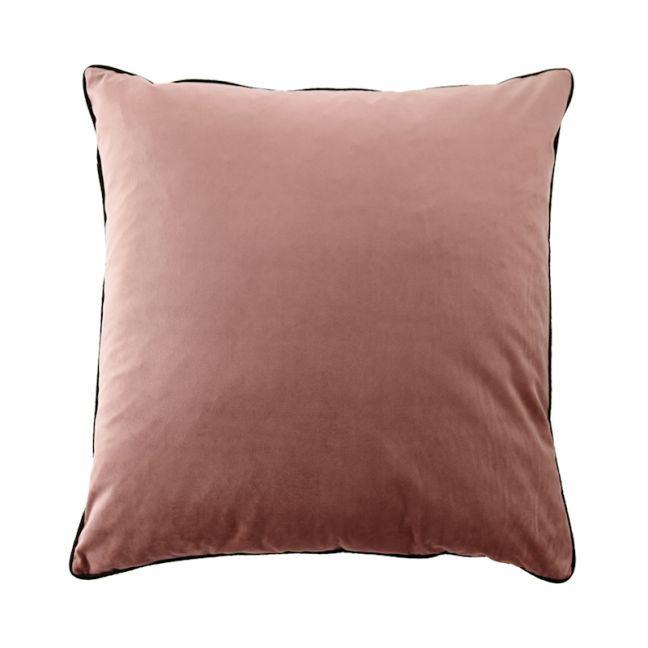 Dusty Rose Oversize Velvet Cushion