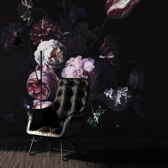 Dutch Floral Wallpaper | WALLPAPER