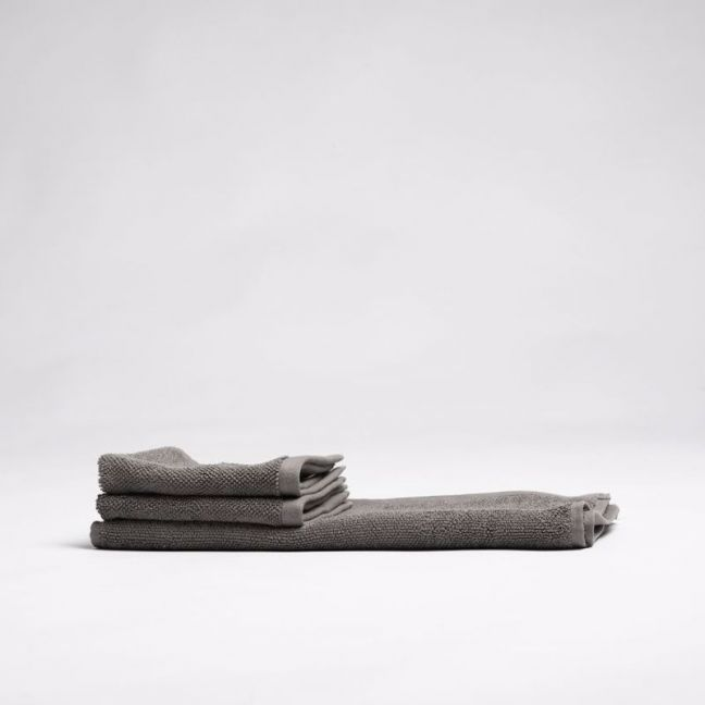 ecoLinen Organic Cotton Face Towel | white or donkey brown