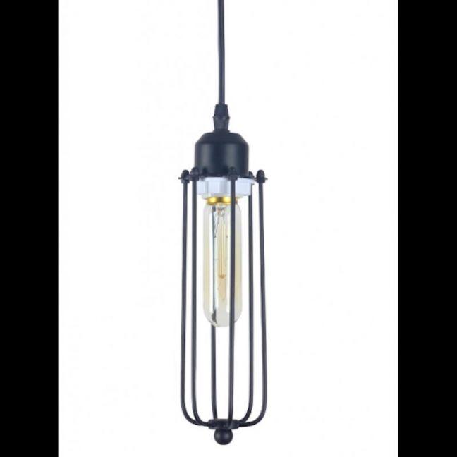 Edison Caged Pendant Light