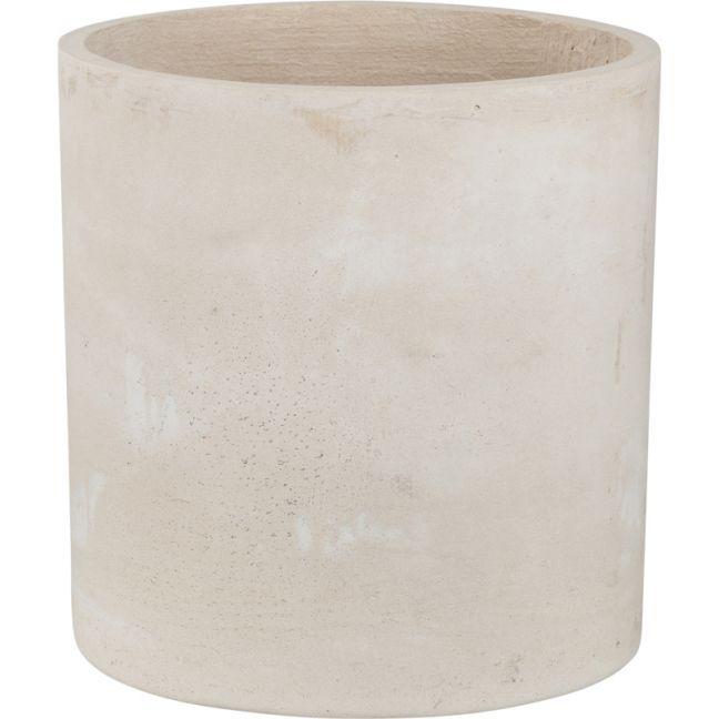 Elina 40cmx42cm Concrete Planter | Milky White | Schots