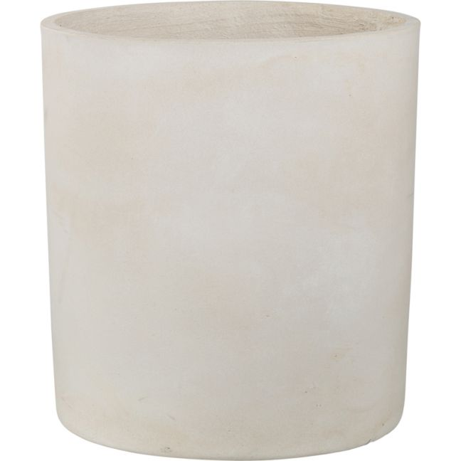Elina 48cm x51cm Concrete Planter | Milky White