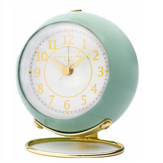 Elizabeth Alarm Clock | No Tick | Sage Green