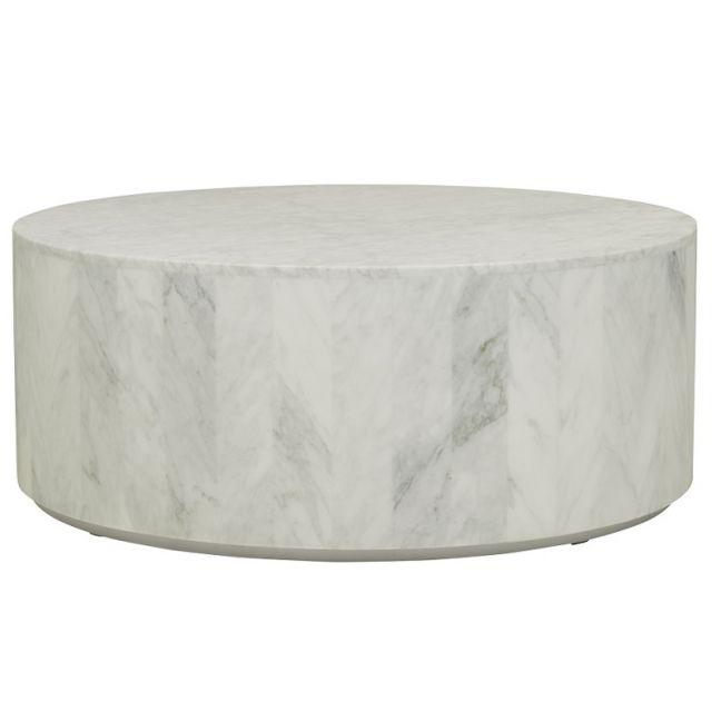 Elle Block Round Marble Coffee Table   Pre Order