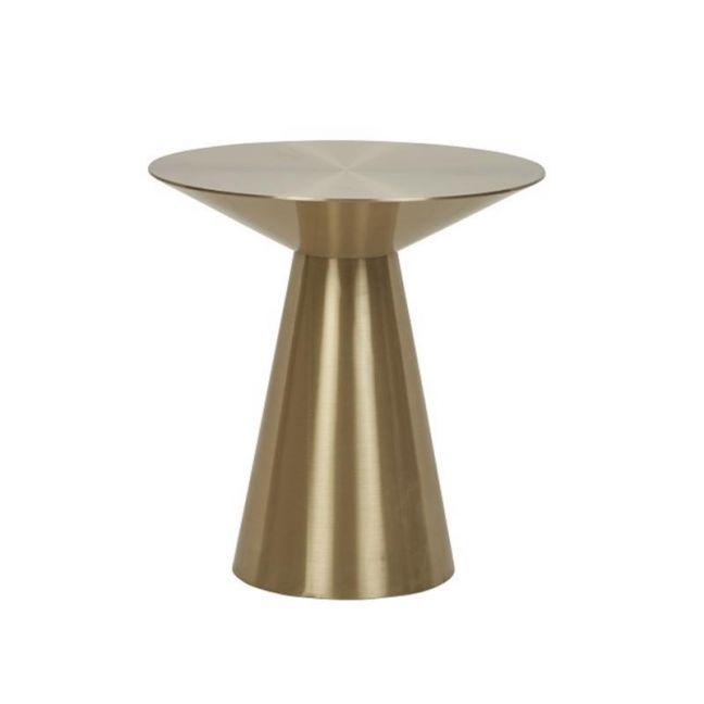 Elle Hourglass Side Table | Brushed Gold | Pre Order