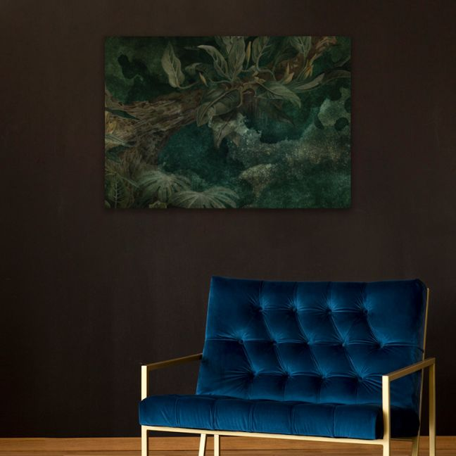 Emerald Jungle | Stretched Canvas | Printed Panel
