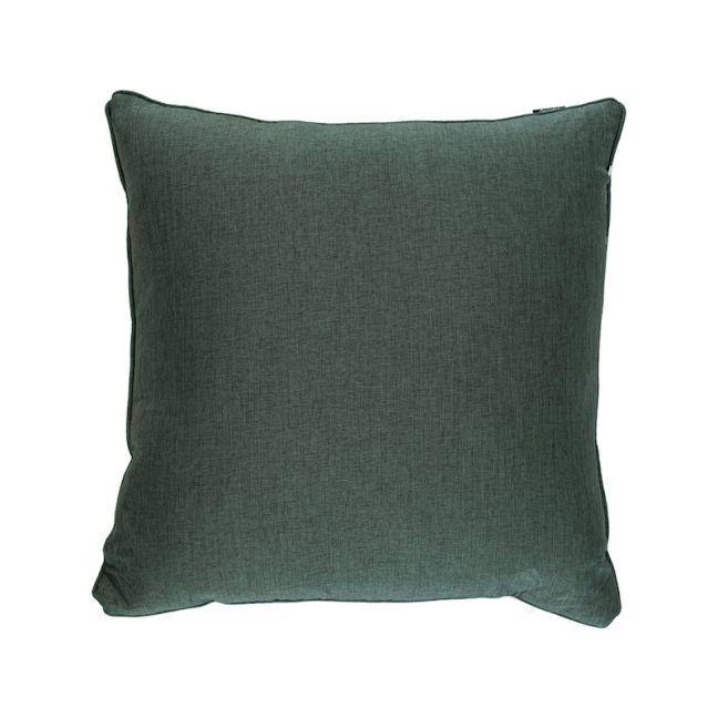 Emerald Twill Square Cushion
