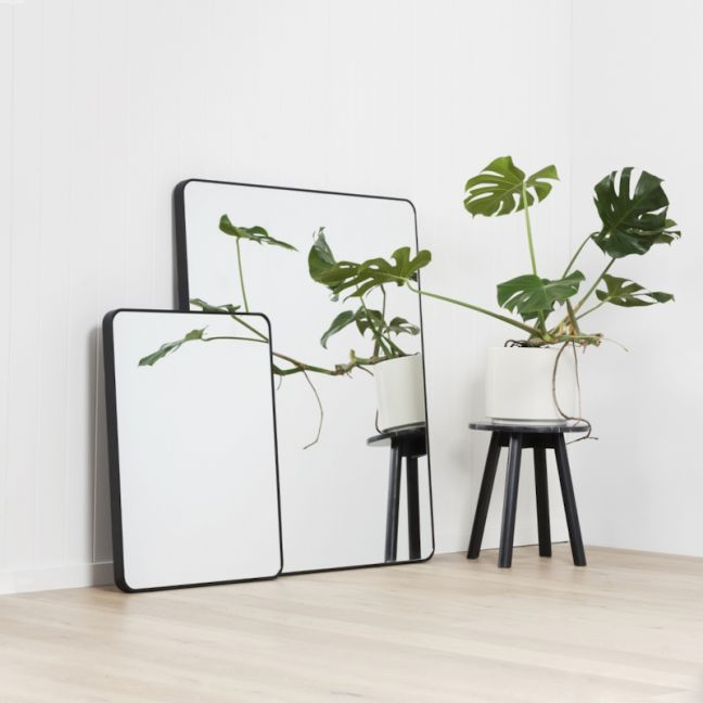 Errol Curved Corner Tall Leaning Mirror | Multiple Colour Options