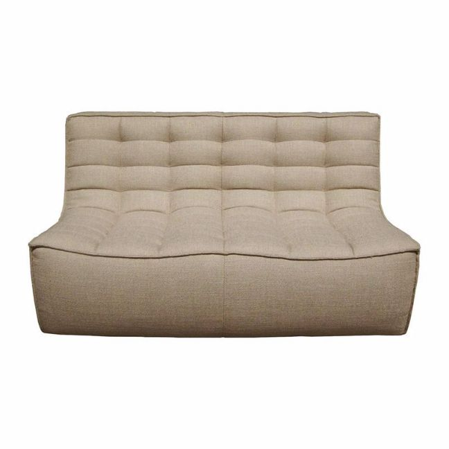 Ethnicraft N701 2 Seater Sofa | Dark Beige | Trit House
