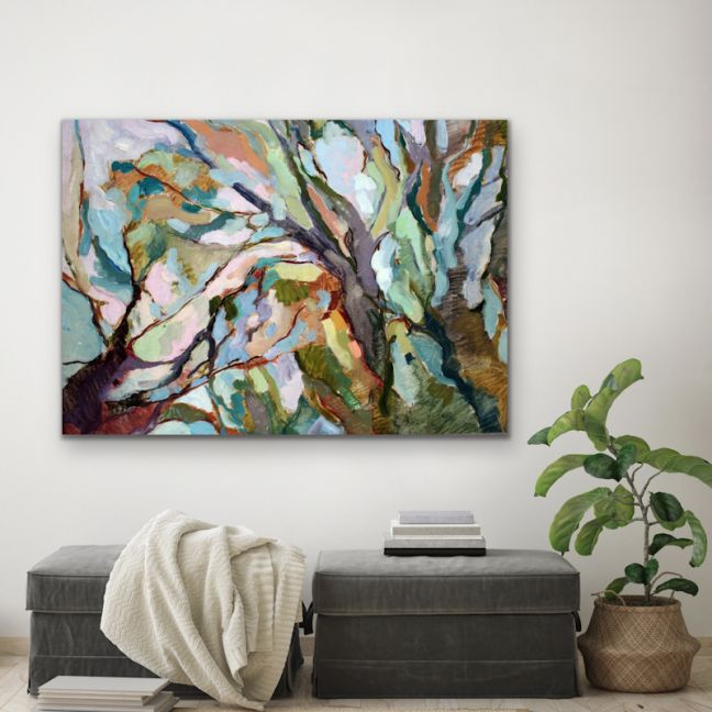 Eucalypt Forest | Abstract Australian Nature Print