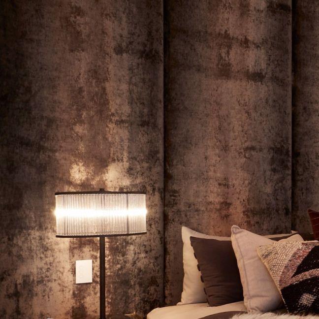 Fabric Wall Panels | Master Bedroom