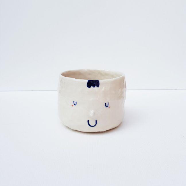Face Mug | Blue Hair 1