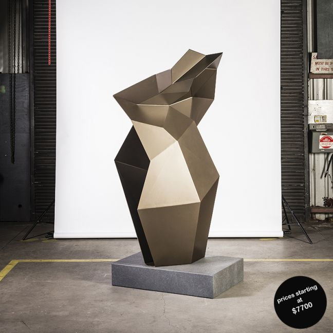 Faceted Untitled No.3   Sculpture