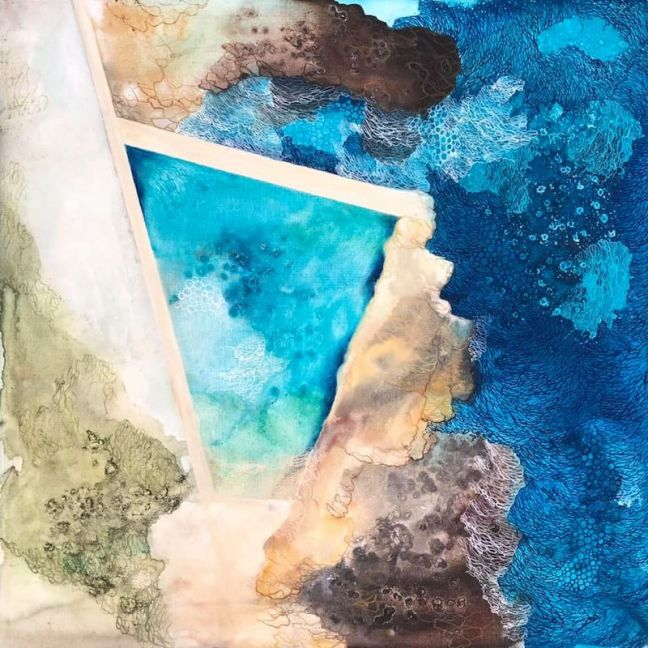 Fairy Bower Ocean Pool   Art Print