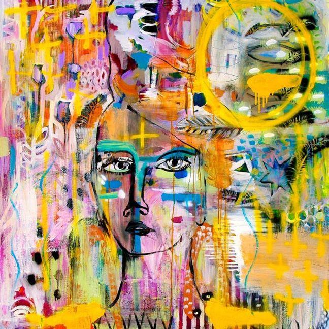 Faith   Warrior Woman   Unframed Print by Holly Eva