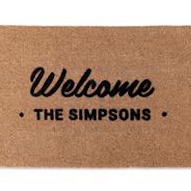 Family Welcome Doormat | Customised | Pre Order