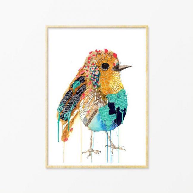 Fappy | Art Print by Grotti Lotti
