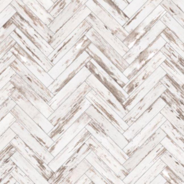 Faux Wooden Herringbone Wallpaper