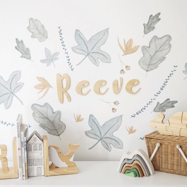 Feuilles/Leaves Decals | Mini