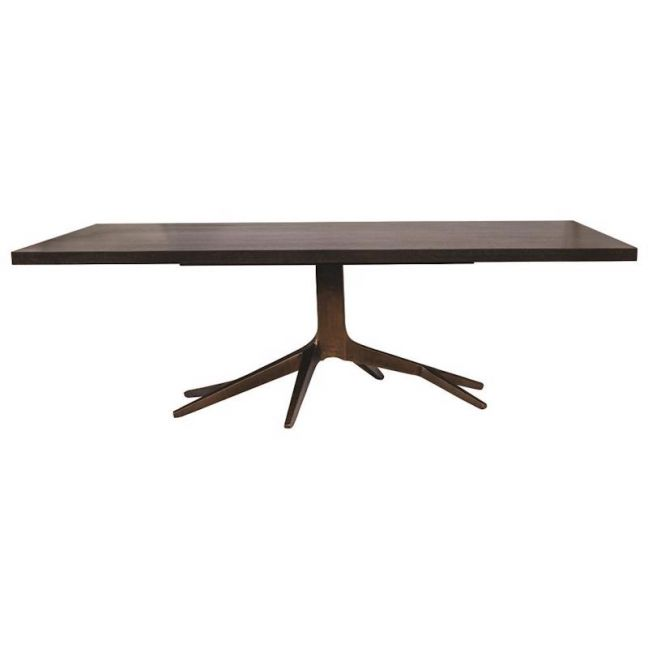 Fifth Avenue Brass Dining Table