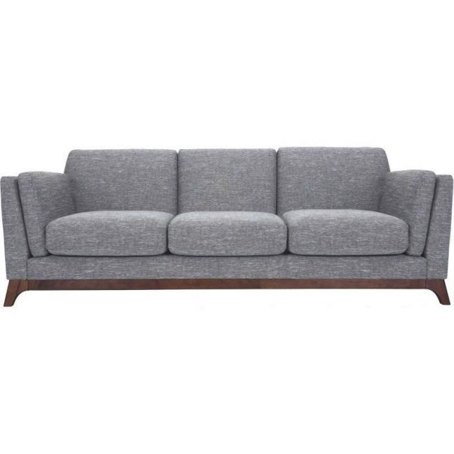 FINN 3 Seater Sofa - Pebble