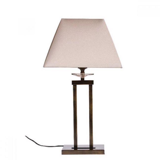 Finn Antique Brass Table Lamp