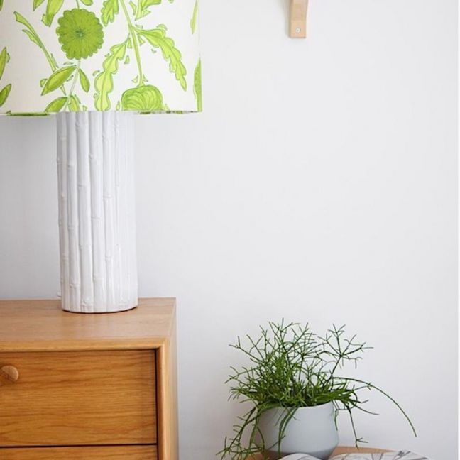Floral | Green Lampshade