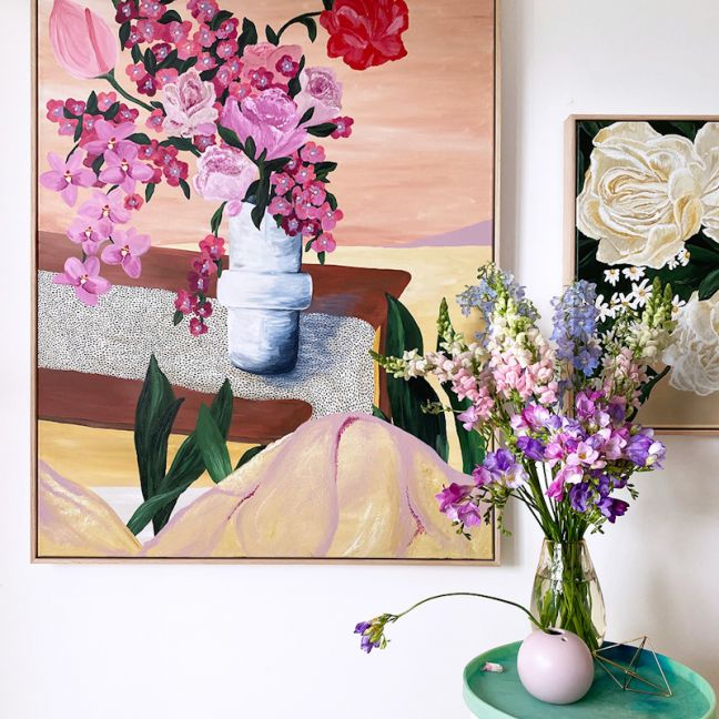 Flowers In The Desert by Danelle Messaike | Limited Edition Print