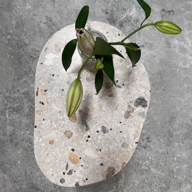 FLUID FORM Terrazzo Side Table or Coffee Table