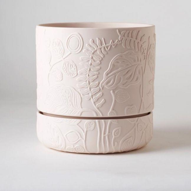 Folia Plant Pot Soft Pink
