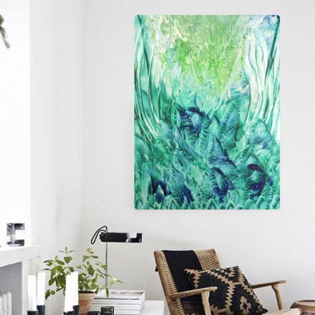 Forever Green | Canvas Art