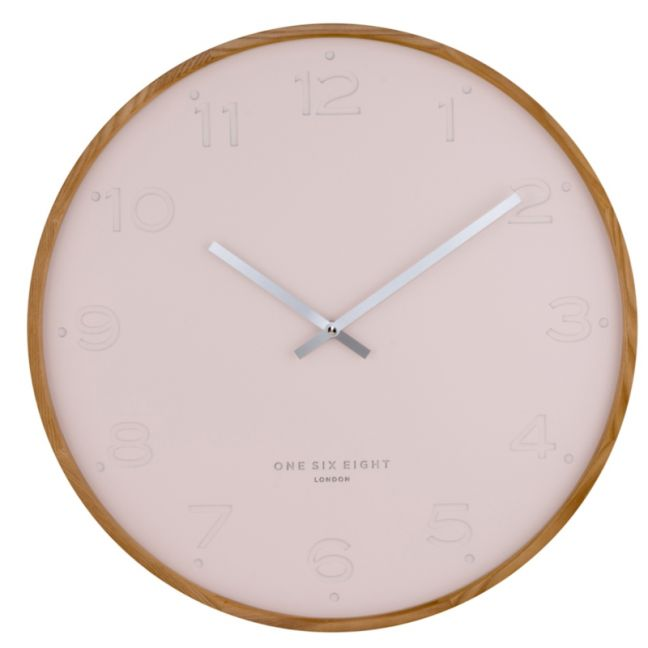 Freya  -  50cm Blush Wall Clock