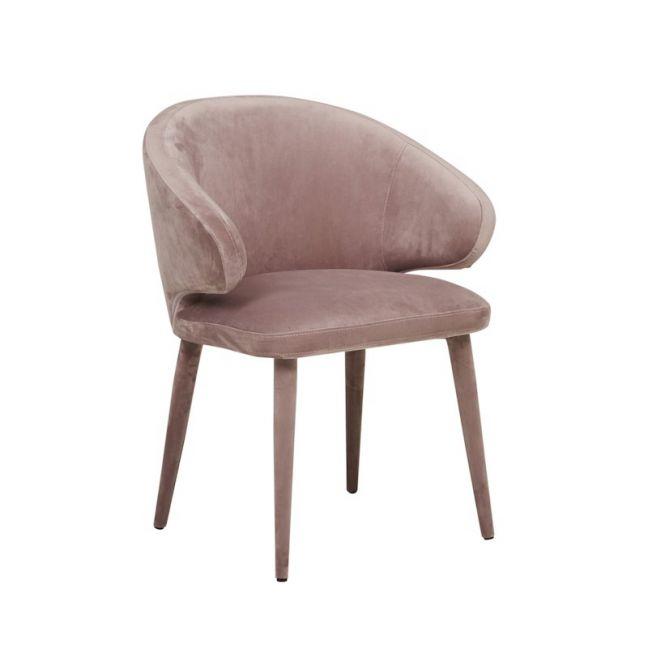Freya Arm Chair | Dusty Mauve