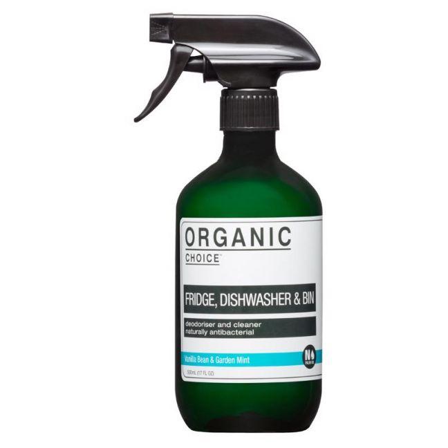 Fridge, Dishwasher & Bin Cleaner – Vanilla Bean & Garden Mint   500ml