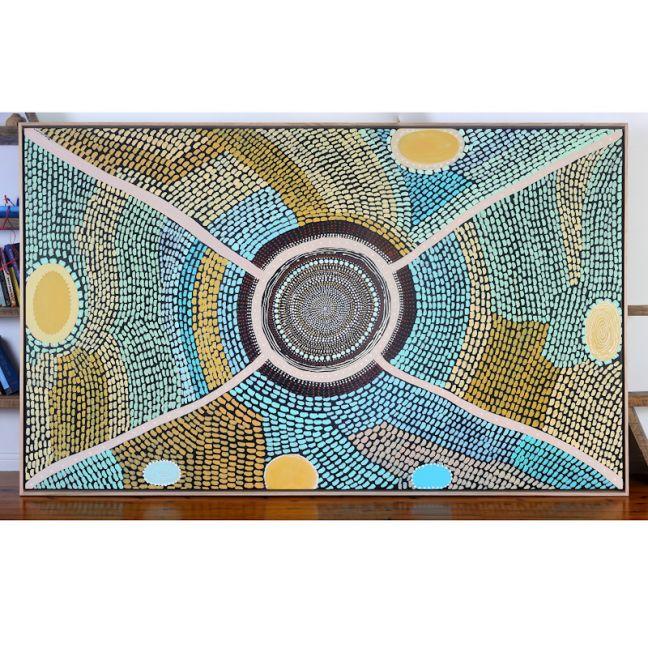 Gaagal | Framed Canvas Print | Various Sizes