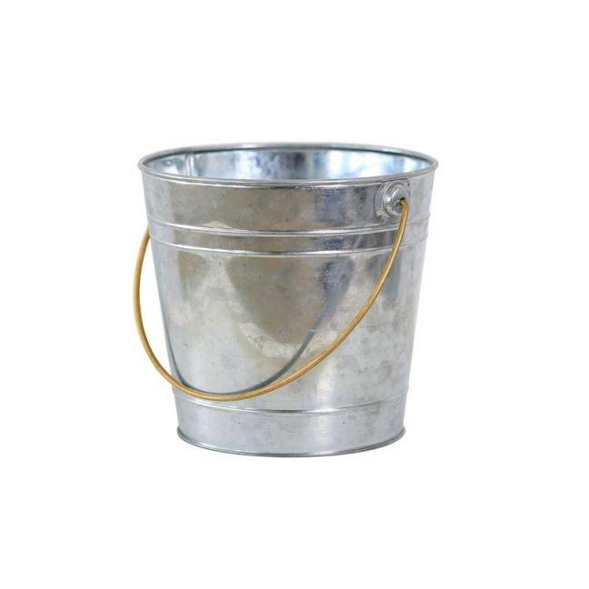 Galvanized Bucket | Silver