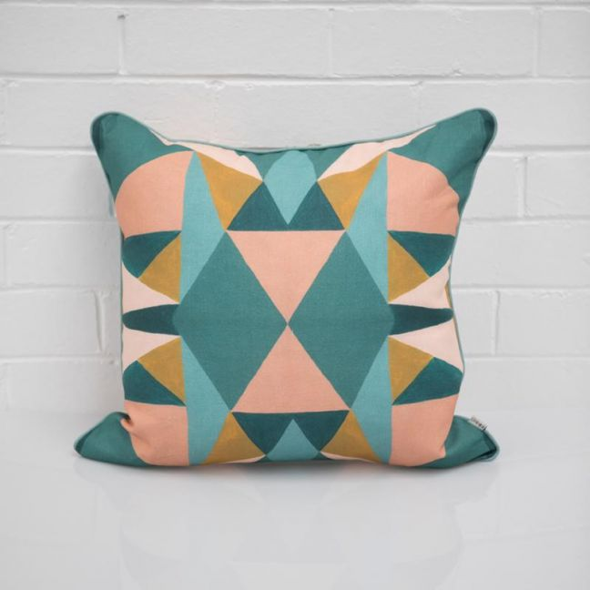 Geo Sun Cushion I Jak & Co Design