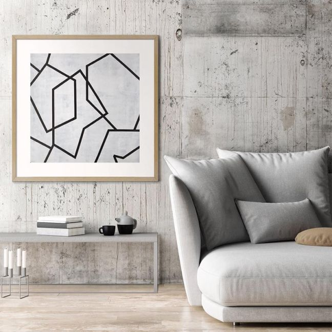 Geometric 5 | Chalie MacRae | Canvas or Print by Artist Lane