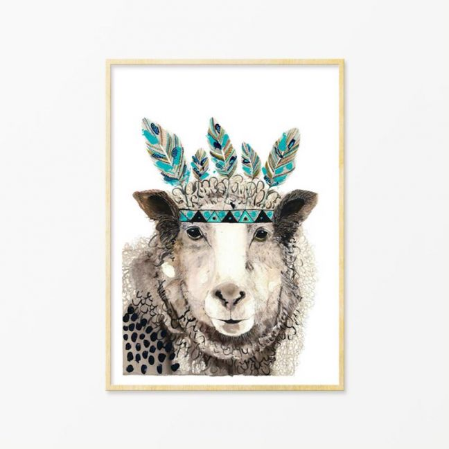 George | Art Print by Grotti Lotti
